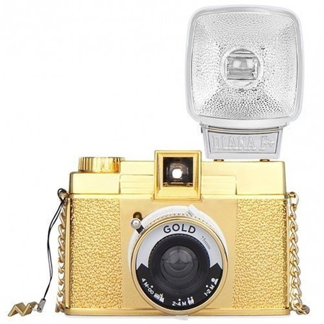 Diana F+ Flash Gold фото №1