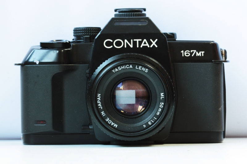 Contax 167MT + Yashica Lens ML 50 mm f/1.9