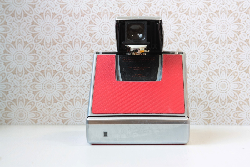 "Polaroid SX-70 Land Camera ""Red"" фото №3"