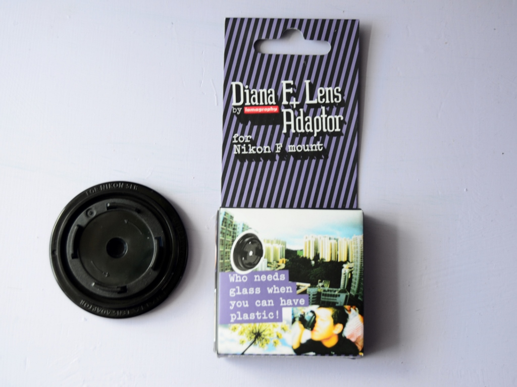 Diana f+ lens adaptor for nikon фото №1