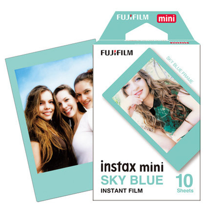 Fujifilm Instax Mini Sky Blue Film фото №1