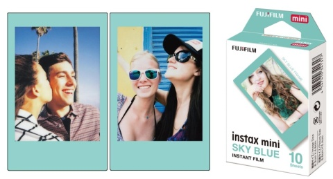 Fujifilm Instax Mini Sky Blue Film фото №2