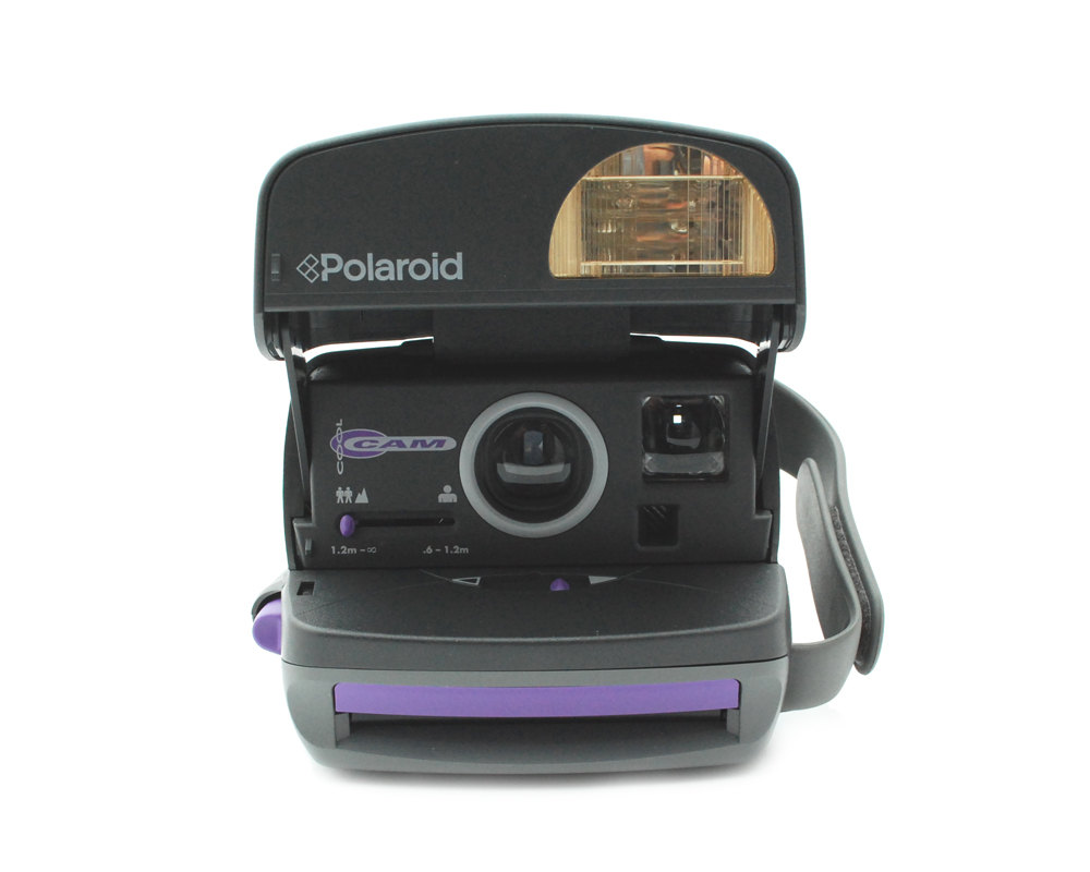 polaroid 600 cool cam purple