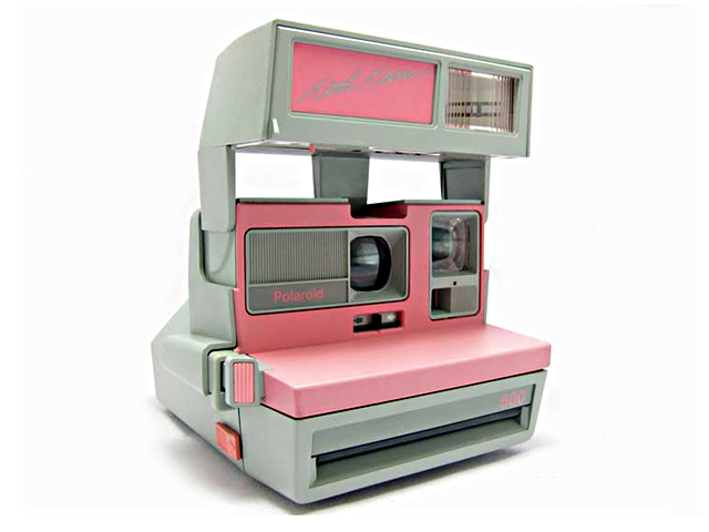 polaroid cool cam pink