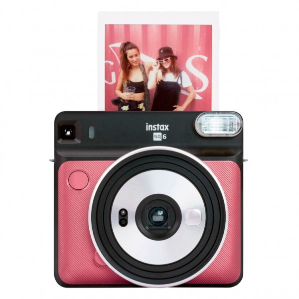 Fujifilm Instax SQ6 Ruby Red фото №1