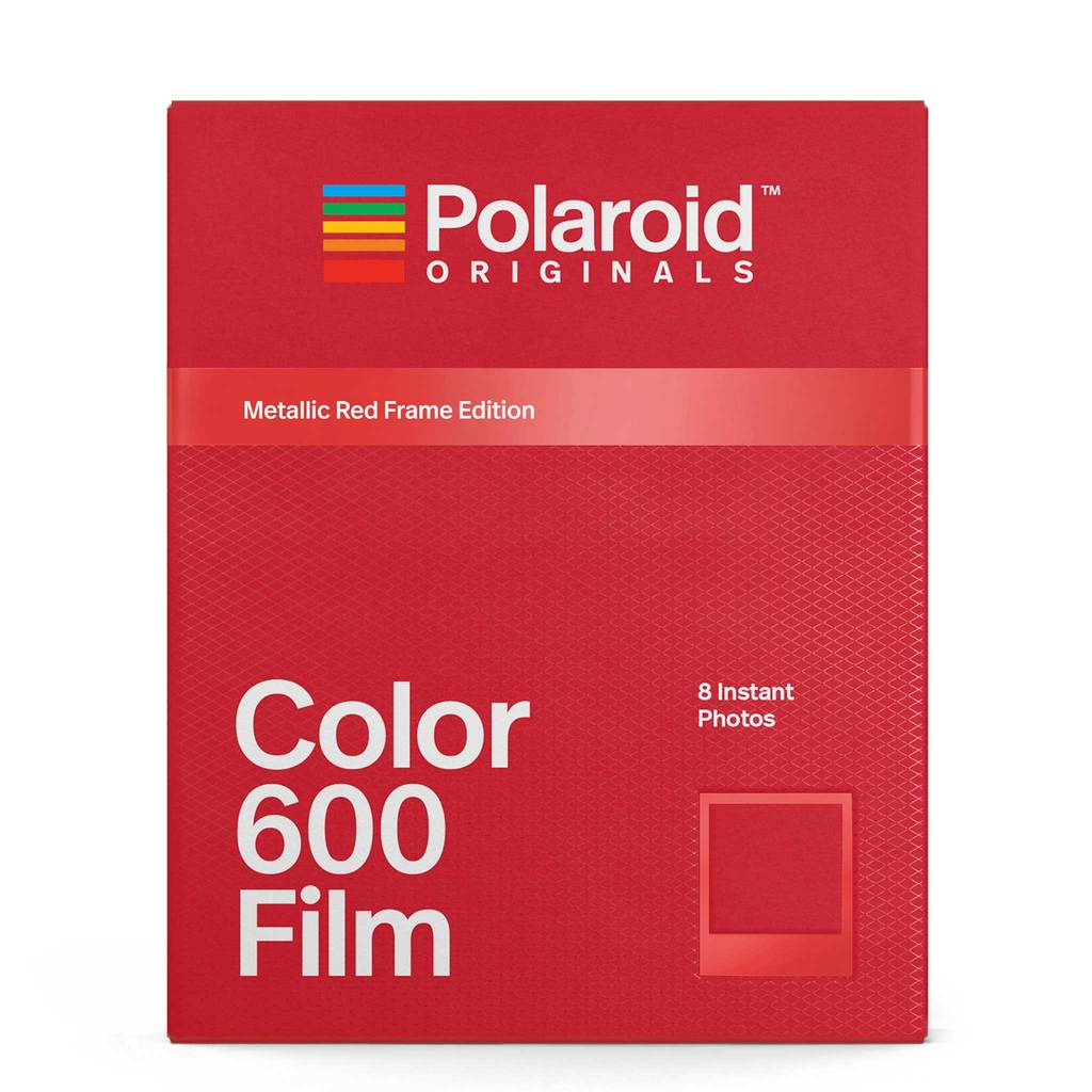 Polaroid Originals Color 600 Metallic Red Frame Edition фото №1
