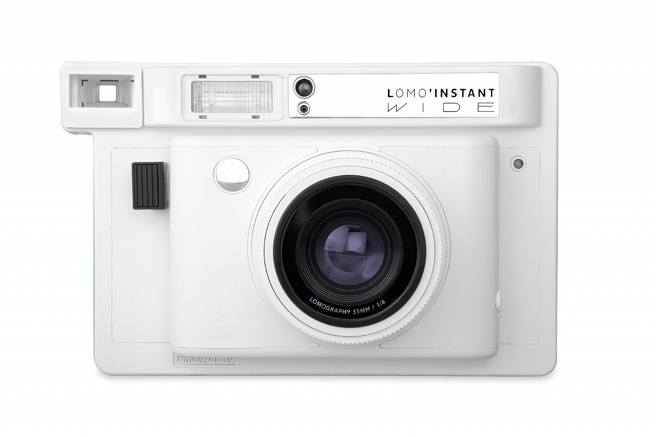 Lomo Instant Wide White + объективы фото №2