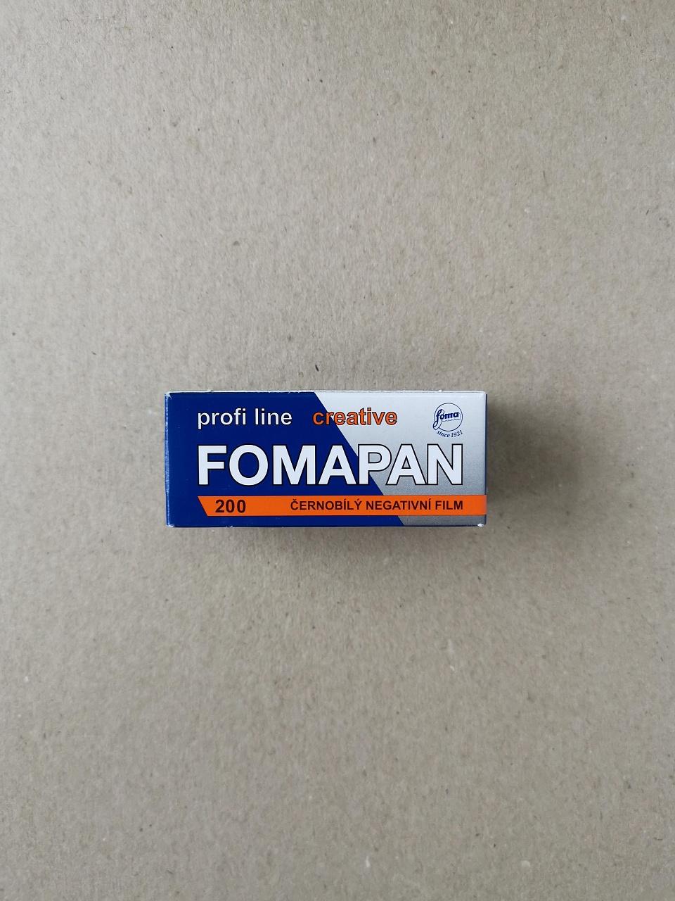 Фотопленка Foma Fomapan 200/120 купить в Москве в интернет-магазине   Wonderfoto