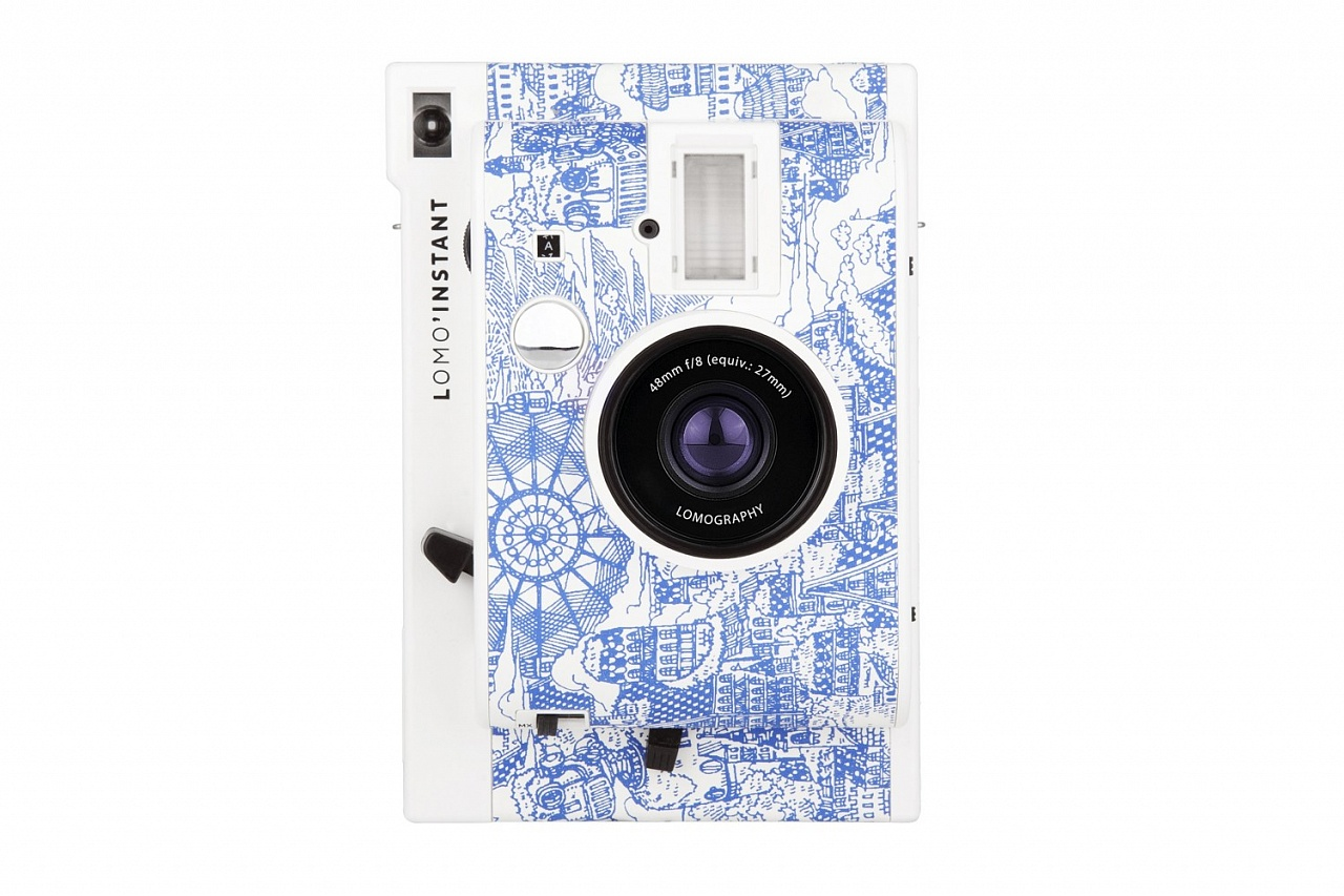 lomo instant mini fashion walk