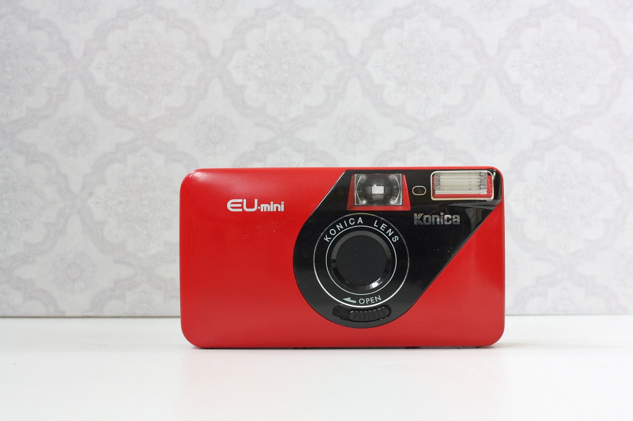 Konica EU-mini red фото №2
