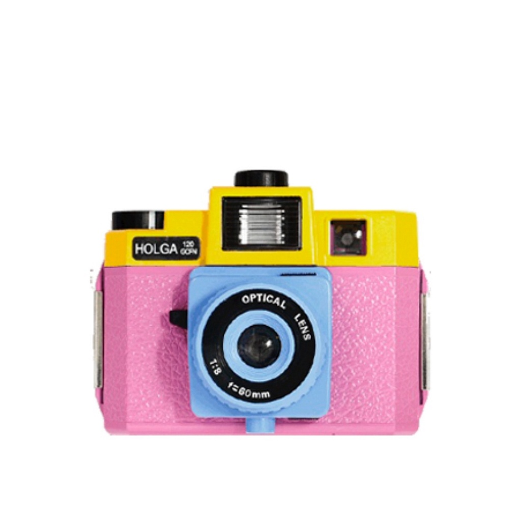 Holga 120 GCFN Pink+Yellow фото №1