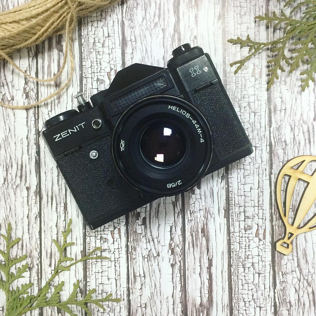 Новая пленочная фотокамера
