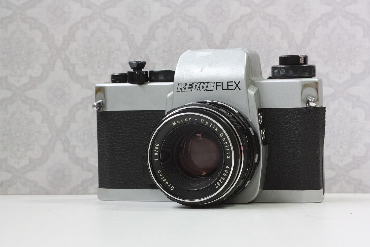 revueflex 2002 + meyer-optik gorlitz 1.8/50